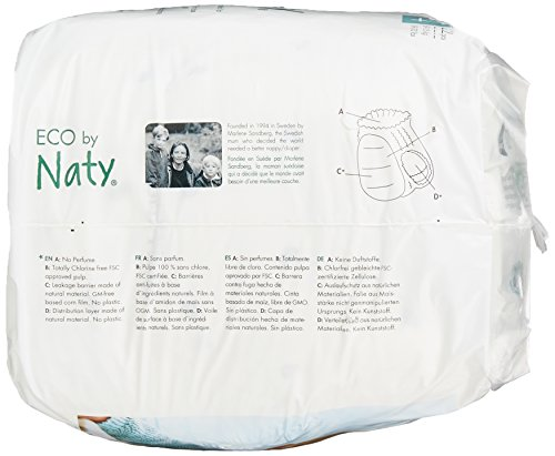 Naty by Nature Babycare Öko Höschen-Windeln – Größe 4 (8-15 kg), 1er Pack (1 x 22 Stück) - 3