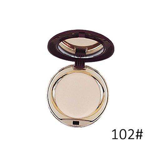 BOBORA Mineral gepresste Pulverfundament Make-up Concealer Gesicht Creme Basis gesetzt glatte Kontrolle der Öl-Kontur Kosmetik-Palette