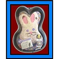 Wilton Funny Bunny Rabbit Non-Stick Cake Pan Mold (2105-1518, 1998) by Wilton