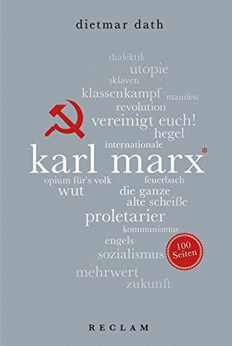 Karl Marx. 100 Seiten: Reclam 100 Seiten
