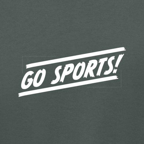 Go Sports - Damen T-Shirt - 14 Farben Dunkelgrau