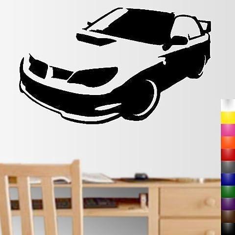 angyzb Noir Taille L 76,2cm subie Import Sport Tuner voiture mur et fenêtre en