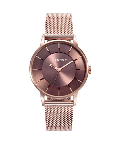 Reloj Viceroy para Mujer con Correa Rosada y Pantalla en Marron 471198-47
