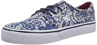 DC Shoes Trase Tx Se, Baskets mode femme - Multicolore (Denim), 36 EU