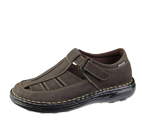 Homme Sandales décontracté de plage tendance décontracté Marche Flip Flop Pantoufle Chaussures en cuir Marron
