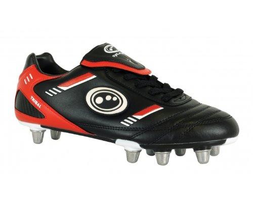 Optimum, Chaussures De Rugby Pour Homme Noir (noir / Rouge)