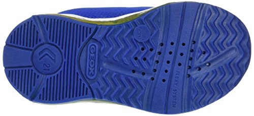 Geox B Todo Boy B, Scarpe Primi Passi Bimbo Blu (Royal/yellowc0797)