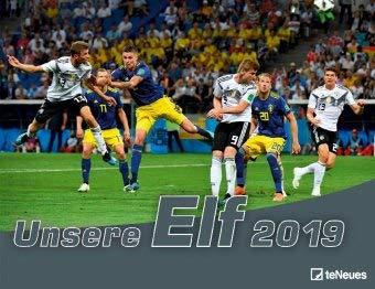 Unsere Elf - Kalender 2020 - teNeues-Verlag - Fußballkalender - Wandkalender - Fotokalender - 42 cm x 29,7 cm