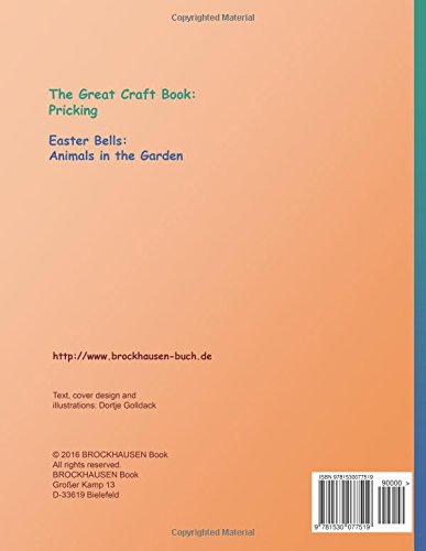 BROCKHAUSEN Craft Book Vol. 2 - The Great Craft Book: Pricking: Easter Bells: Animals in the Garden: Volume 2