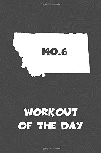 Workout of the Day: Montana Workout of the Day Log for tracking and monitoring your training and progress towards your fitness goals. A great ... bikers  will love this way to track goals! por KwG Creates