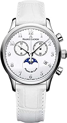 Maurice Lacroix Les Classiques LC1087-SS001-120-1 wristwatch Lunar Phase Indicator