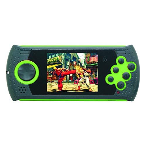bloatboy MD16 Simulator 3.0 Zoll Spielkonsolen, Handheld-Spielkonsole für Kinder mit integrierter SEGA-Spielkonsole (Grün) - Pokemon Spielzeug Elektronische