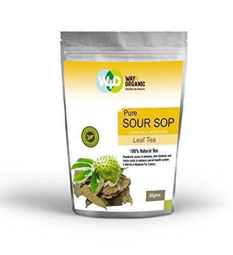 Way4Organic Sour Sop Tea -Loose Tea-30 Gm Pouch