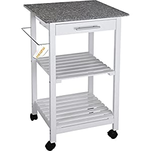 Küchenwagen mit Granitplatte | Deine-Wohnideen.de | {Küchenwagen mit granitplatte 23}