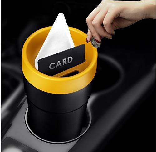 Auto Aufbewahrungsbox Neuestes Auto Multifunktionale Aufbewahrung Einfache Design Eimer Aufbewahrungsbox Aufbewahrungsbox Tube Auto Tissue Box Auto Mülleimer für Autobedarf
