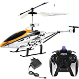 SUPER TOY Kids Plastic Flying Helicopter with Remote (Multicolour)