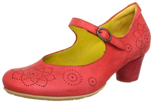 Think Luna 80152, Damen Pumps, Rot (kirsch/kombi 74), EU 41.5