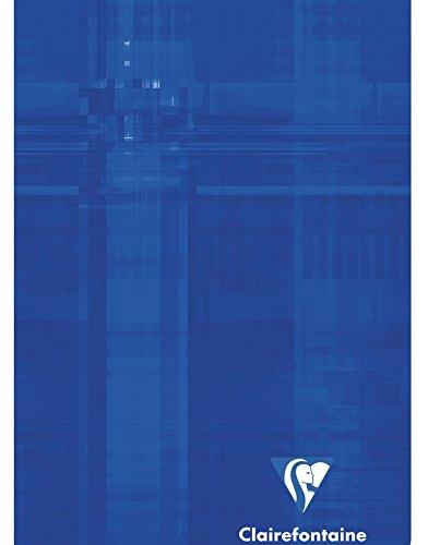 Clairefontaine - Quaderno a quadretti grandi con indice alfabetico, confezione da 3, dimensioni 11 x 17 cm, colori assortiti