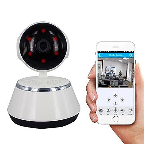 Caméra Nanny Cam Video, maison Caméra de sécurité d'intérieur/extérieur, fil de caméra de sécurité, caméra de sécurité d'intérieur domestique sans fil WiFi IP Caméra vidéo cachée pour réseau domestique sans fil, WiFi IP Caméra vidéo cachée