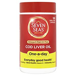 Seven Seas Cod Liver Oil One A Day 120 Capsules