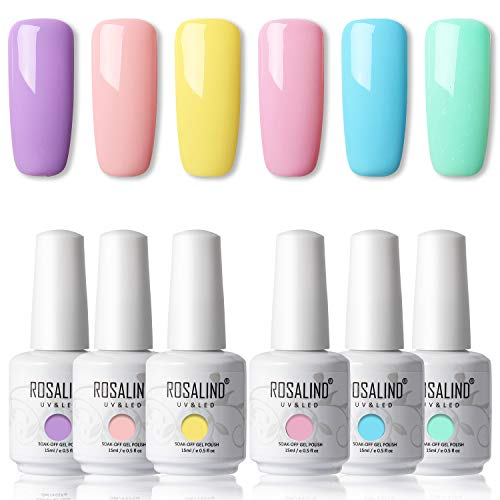 ROSALIND 15ml Esmaltes Semipermanentes Uñas Gel UV