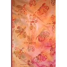 """Dragonflies Blank Book Journal: 100 pages, 6 x 9"""", lined"""