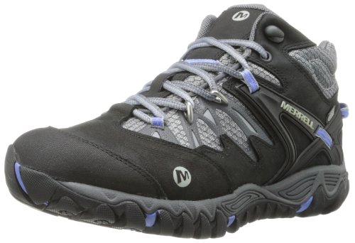 Merrell All Out Blaze Mid Waterproof Chaussures de randonnée Black/Silver