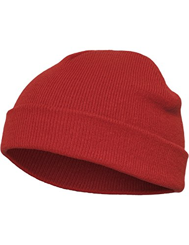 Flexfit Mütze Heavyweight Beanie, red, one size, 1500KC-00199-0050