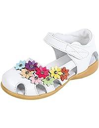 EOZY Bas Chaussures Princesse Été Bébé Fille Enfant Fleur Soft-Soled Sandales Souple Shoes