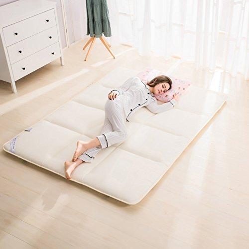 Matratze doppelbett matratze studentenwohnheim zusammenklappbar matt mat-B 120x200cm(47x79inch)120x200cm(47x79inch) (Baumwoll-polyester-futon-matratze)