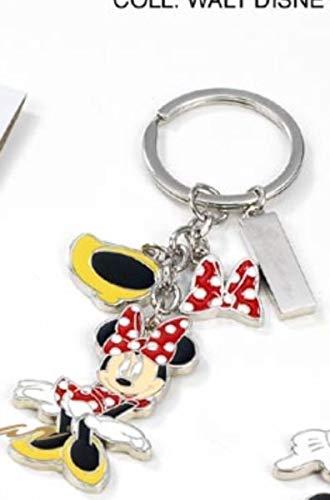 Disney minnie portachiavi in metallo 3 ciondoli