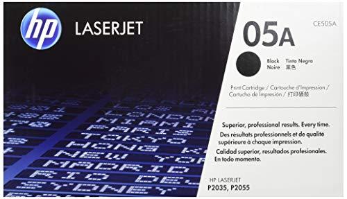 HP 05 - Cartucho de tóner Original HP 05A Negro para HP LaserJet P2035 , P2055