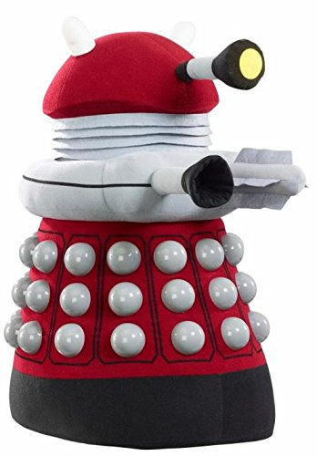 Doctor Who 24-inch Dalek Talking Light-Up Plush (Burgundy)