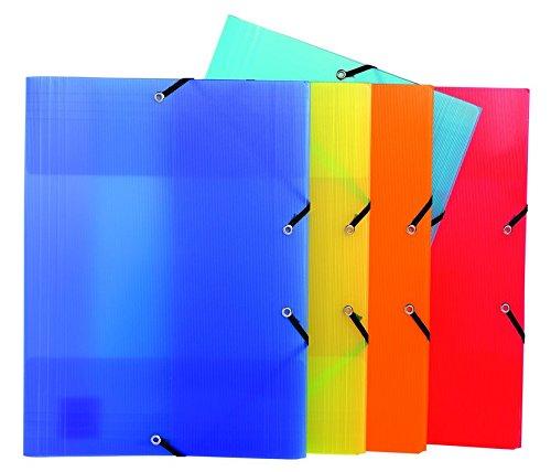 Exacompta 55877e Polypropylen (PP) Mehrfarbig Datei-Dateien (Polypropylen (PP), Mehrfarbig, A4, 200Blatt, 240mm, 320mm)