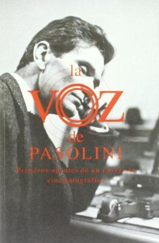 La voz de pasolini por Alberto Ruiz De Samaniego
