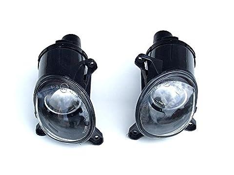Schwarz Nebelscheinwerfer Leuchten Licht Set für VW Passat 3BG