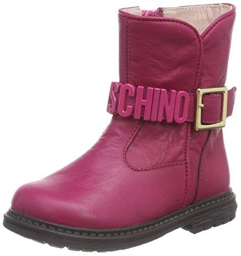 Moschino 25758, Stivaletti classici imbottiti, corti Ragazza, Rosa (Pink (Pink                  9103)), 27