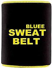Bluee Advance Sweat Waist Belt/Exercise Body Slim Look Belt Free Size