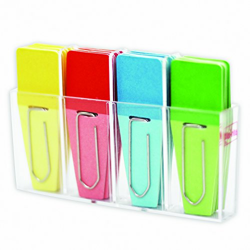 Solid Clip Flags 24Pk Red Blue Yellow Green by