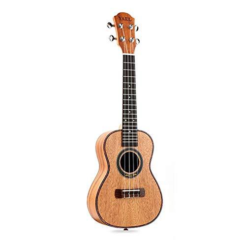 Qlj08 ukulele da concerto 4 stgs 23 pollici ukulele soprano mogano chitarra acustica tastiera in palissandro ponte per principianti professionisti