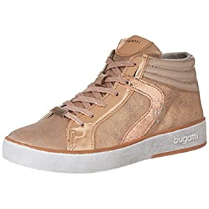 Bugatti 422291305050, Women's Hi-Top Sneakers, Pink (Rose/ Metallic), 6 UK (39 EU)