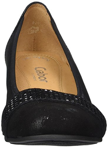 Gabor Gabor Comfort, Ballerines plates femme Noir (97 schwarz schwarz)