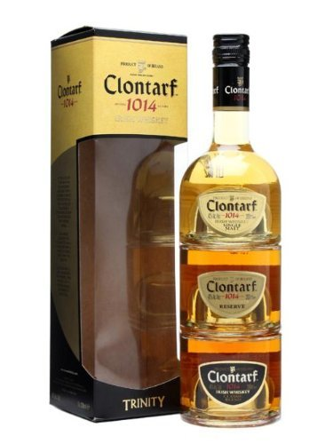 Clontarf Trinity Pack Irish Whiskey 3 x 0,20l