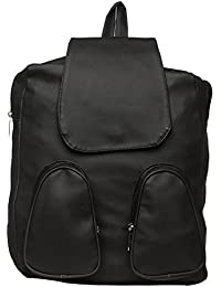 Rapidcostore Black Backpack Cum Hand Bag For Girls And Women RC-1171