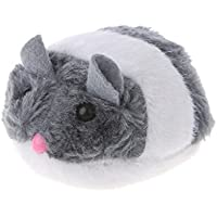 YoungerY Pulling Pointer Shake Mouse Animación Entrenamiento Funny Cat Play Toy Interacter Grey