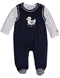 Salt & Pepper Bg Playsuit Girls Uni, Polaina para Bebés