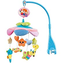 HOSIM bella greppia musicale mobile Nursery Crib Lullaby Culla Stoller Music Box Neonato Regalo Animali stella di figura dell'automobile peluche bambole, Animal Friends con 20 melodie giocattolo educativo (Flash) - Dell'automobile Del Gancio