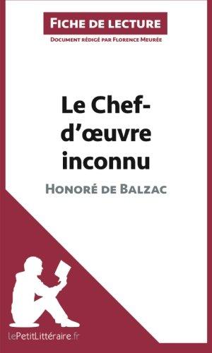 Le Chef-d'oeuvre inconnu d'Honoré de Balzac (Fiche de lecture): Résumé Complet Et Analyse Détaillée De L'oeuvre