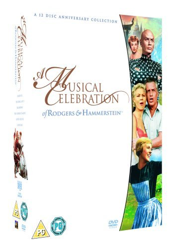 Rodgers And Hammerstein : A Musical Celebration - Carousel / The King and I / Oklahoma ! / The Sound of Music / South Pacific / State Fair [12 DVD Special Edition Box Set] by Julie Andrews