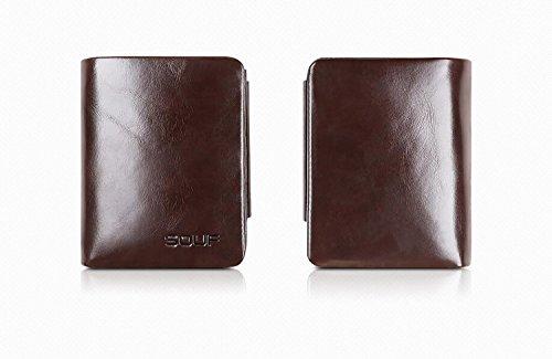 ZXDOP Brieftaschen - Männer lederne Mappen - Mappen - Mappe der Männer ( farbe : 3# ) 4#